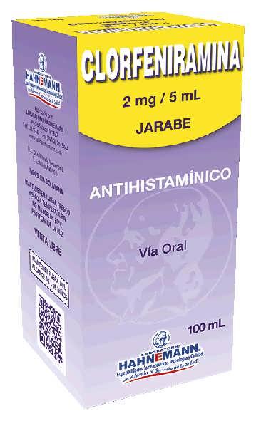 contraindicaciones de la clorfenamina maleato